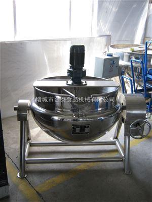 200L蒸汽加热熬豆浆夹层锅