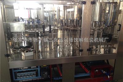 CGF小型瓶装矿泉水三合一灌装机