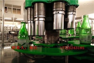 DGCF玻璃瓶含气饮料三合一灌装机