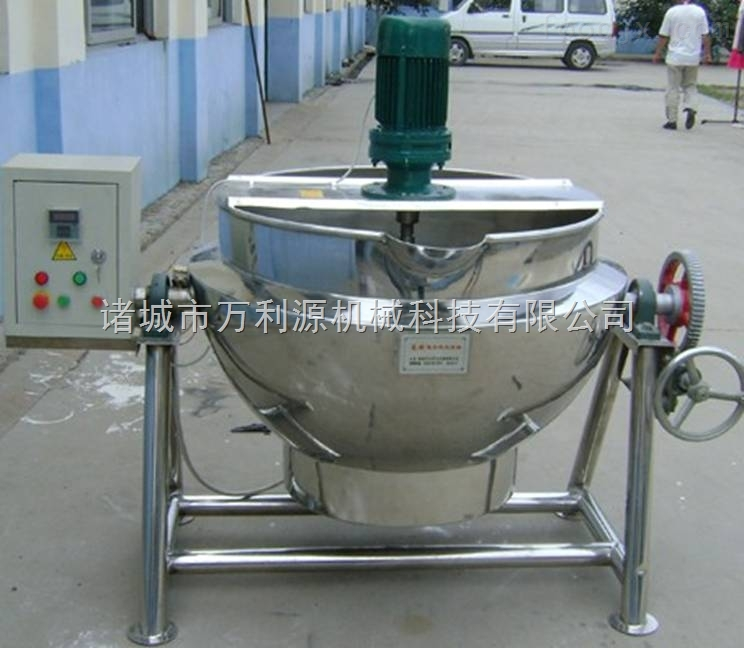 生产蒸汽夹层锅/蒸煮锅/万利源夹层锅