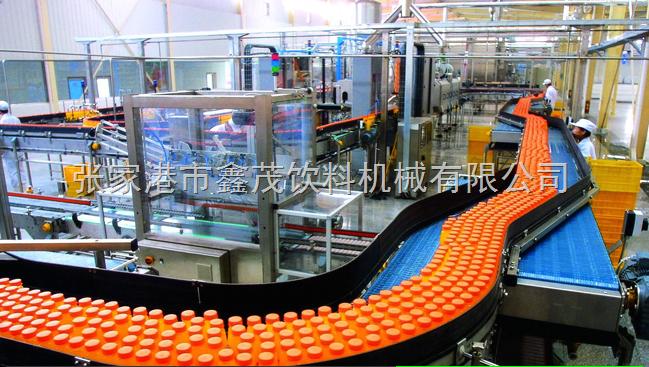 粒粒橙饮料生产线