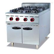 GH-987-立式燃气四头煲仔炉连柜座