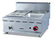 GH-584-台式燃气四盆保温汤池