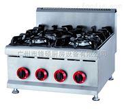 GH-587-台式燃气四头煲仔炉/矮仔炉