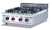 酒店煲仔设备商用四头煲仔炉台式燃气煲仔炉