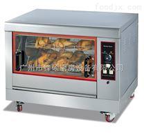 单层电旋转烤鸡炉