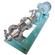 卫生泵产品 食品卫生级螺杆泵GF型厂家