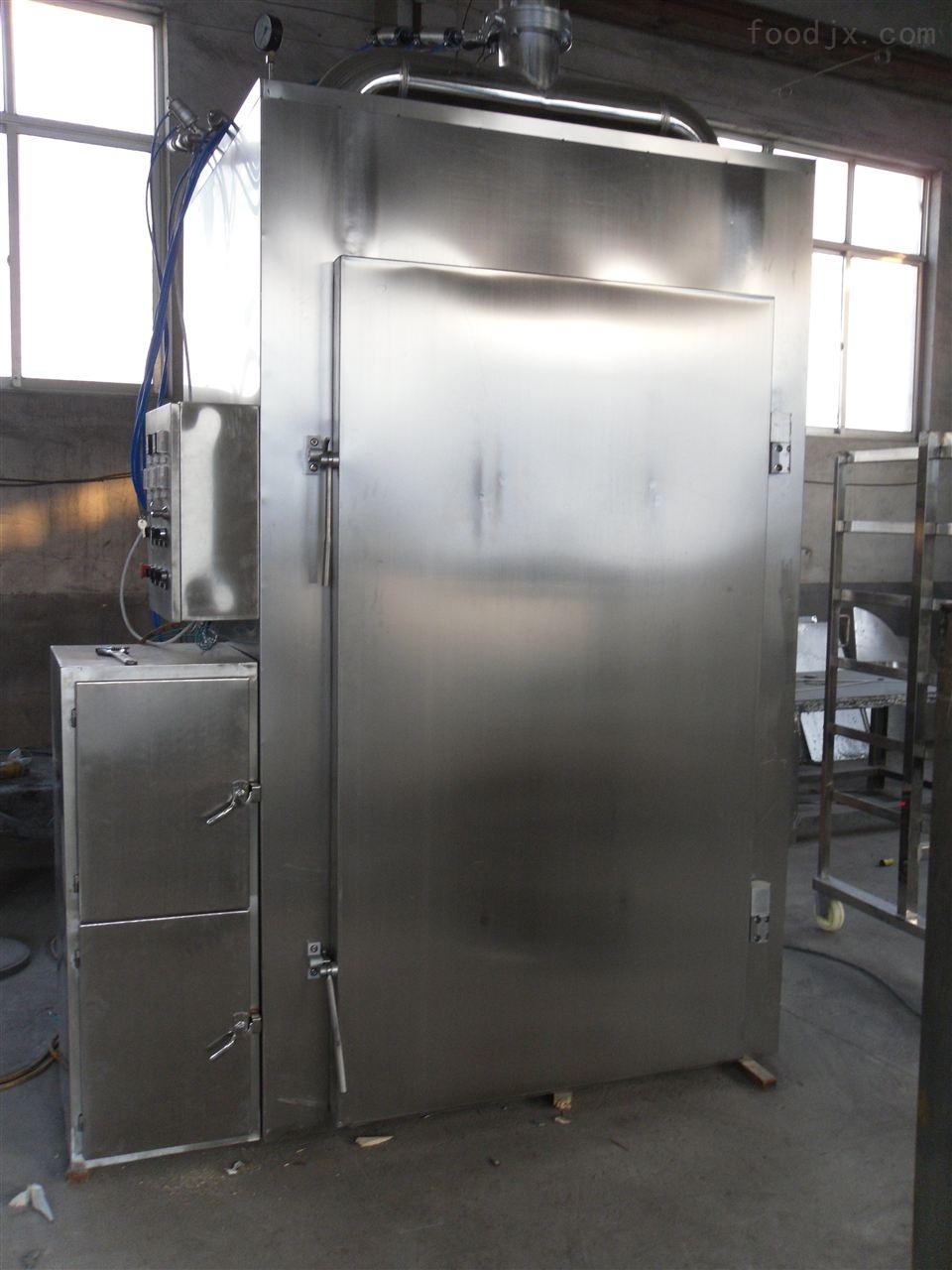 厂家供应不锈钢全自动烟熏炉蒸熏炉多少钱/豆腐干专用250型号烘烤设备