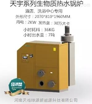 卧式-生物质热水锅炉-河南天格璍源新能源科技