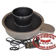 厂家直售烤涮炉具WY420C 无烟烧烤炉 烤涮一体设备 烧烤炉