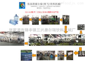 300-900桶每小時桶裝水生產線解決方案