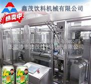 饮料洗灌封生产线,2015首选 饮料厂易拉罐灌装封口机械设备生产线