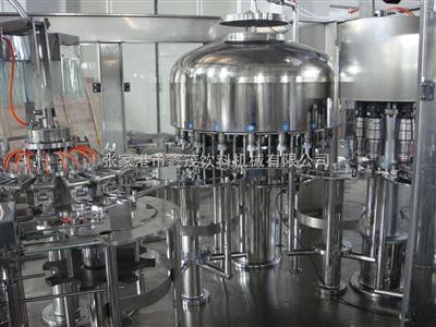 纯净水专业高速稳定灌装机器