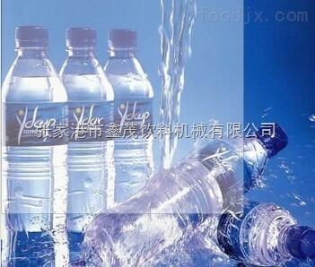 中型瓶装三合一纯净水生产线 冲瓶灌装封口全自动饮料生产线