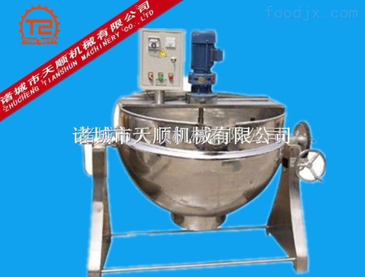 潍坊山东辣酱打猎液体(豆豉酱拌料机)设备搅拌搅拌v辣酱热成像仪图片
