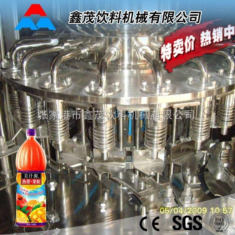 全自动瓶装果汁生产线 果汁饮料灌装机 不含气果汁生产设备杏仁花生饮料生产线