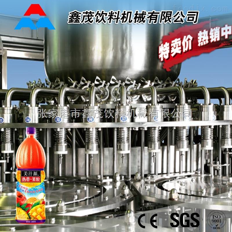 全自动果汁饮料生产线 果汁饮料灌装机 全自动液体饮料生产设备核桃钙果饮料生产线
