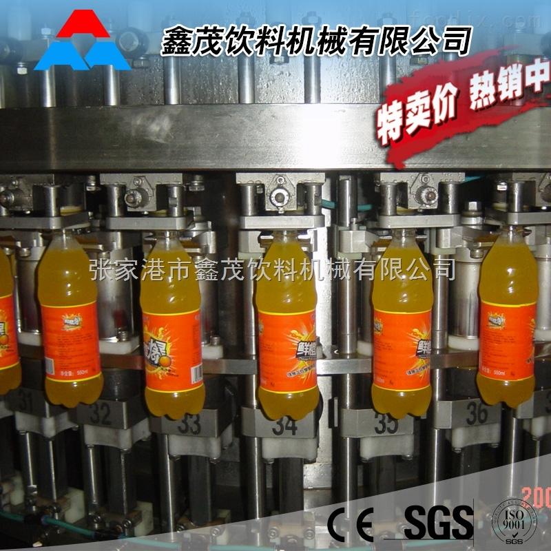 果汁饮料生产线厂家 全自动灌装设备 饮料生产线专业制造三合一热灌装机
