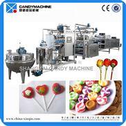 SGD150~600-球形棒棒糖和瘪棒糖生产线  硬糖成型机 高质量糖果设备 食品机械