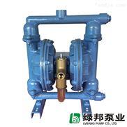 QBY-25不锈钢气动隔膜泵 304 316L耐腐蚀 卫生食品级 QBK 第三代
