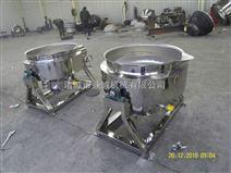 蒸汽加热夹层锅蒸汽炒菜机