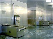 双螺旋速冻机前处理生产线