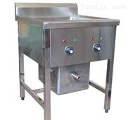 供应阁润电热油炸锅 炸鸡翅机器 不锈钢炸锅 炸鸡腿机器