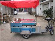 定做玻璃鋼流動小吃車 可做麻辣燙 鐵板燒等 安全衛生防雨防塵