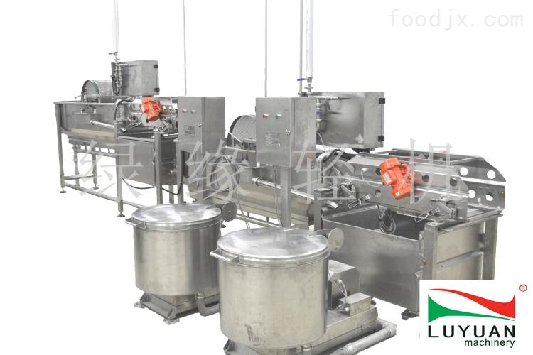 全自动蔬菜加工生产线