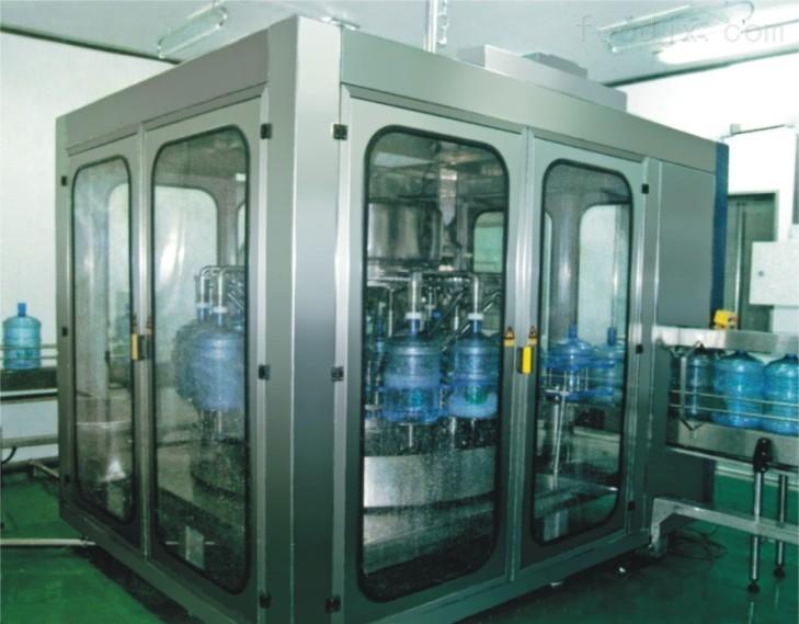 产品库 食品通用设备 灌装机械 矿泉水灌装机 yfdg 5加仑桶装水生产线