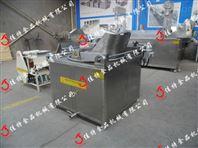 定制型电加热蚕豆油炸机