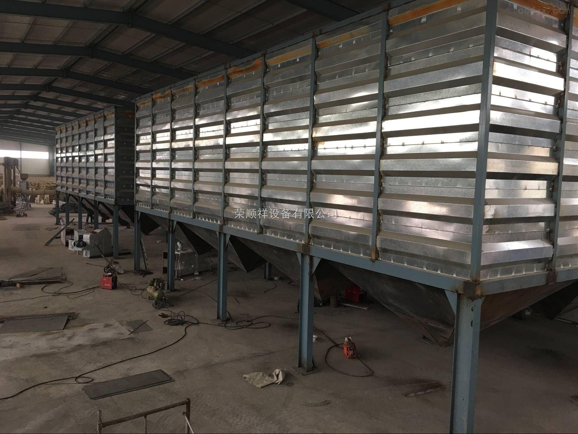 装配式钢板仓由方形装配式粮食钢板仓首选!图片