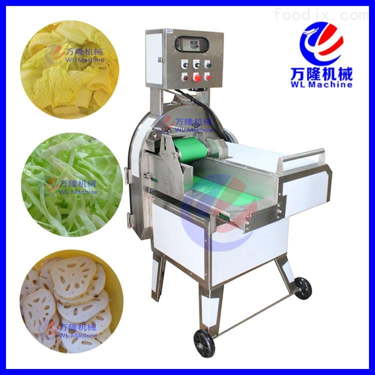 中国台湾大型切菜机 瓜果切片机 叶菜类切段机