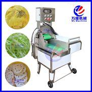 台湾大型切菜机 瓜果切片机 叶菜类切段机