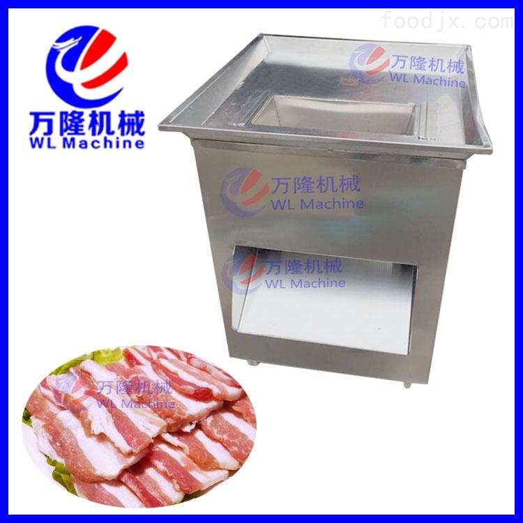 款立式切肉机 自动大型切肉片肉丝机