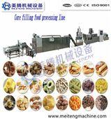麦圈休闲食品生产线膨化食品机械