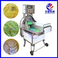不锈钢大型全主动切菜机 蔬菜切片切段机