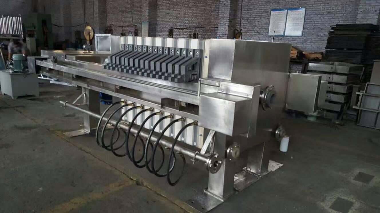 800-供应利鑫食品级不锈钢压滤机
