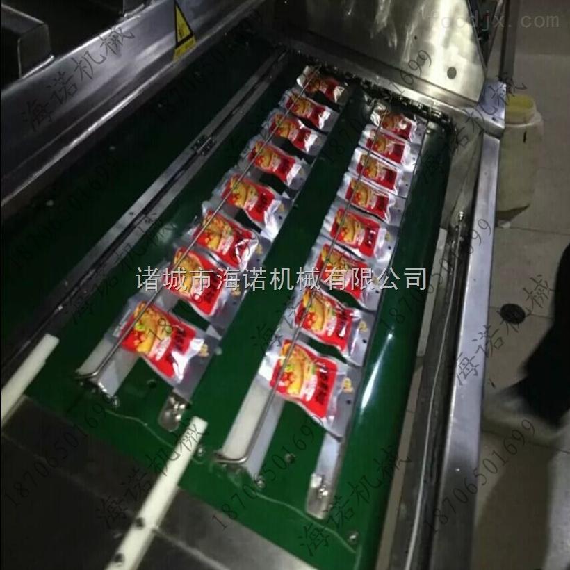 DZ-1000五香瓜子仁连续真空包装机  海诺滚动式真空包装机生产厂家