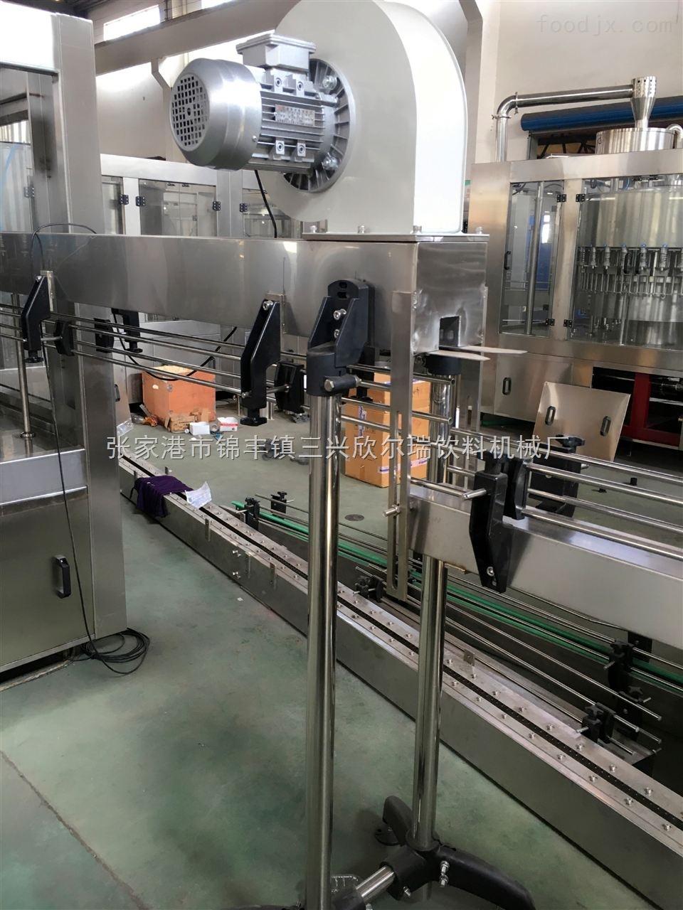 自动化全套果汁茶饮料灌装机设备