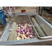 山东临沂地瓜红薯毛辊去皮清洗机