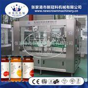 CGF24-24-8玻璃瓶三旋盖果汁饮料灌装封口机价格