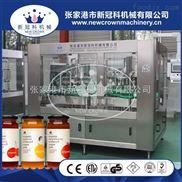 CGF24-24-8-玻璃瓶三旋盖果汁饮料灌装封口机价格