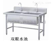 合肥厨房设备合肥不锈钢水池水槽合肥不锈钢水池定做