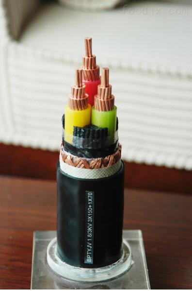 ZR-YJLV22-0.6/1KV-3*12+1*70 交联电力电缆