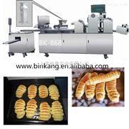 厂家亏本直销军工品质菜包、肉包、银丝卷、面包提供配方专业酥饼机