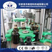 CGF18-18-6厂家供应三合一啤酒灌装机玻璃瓶拉环盖