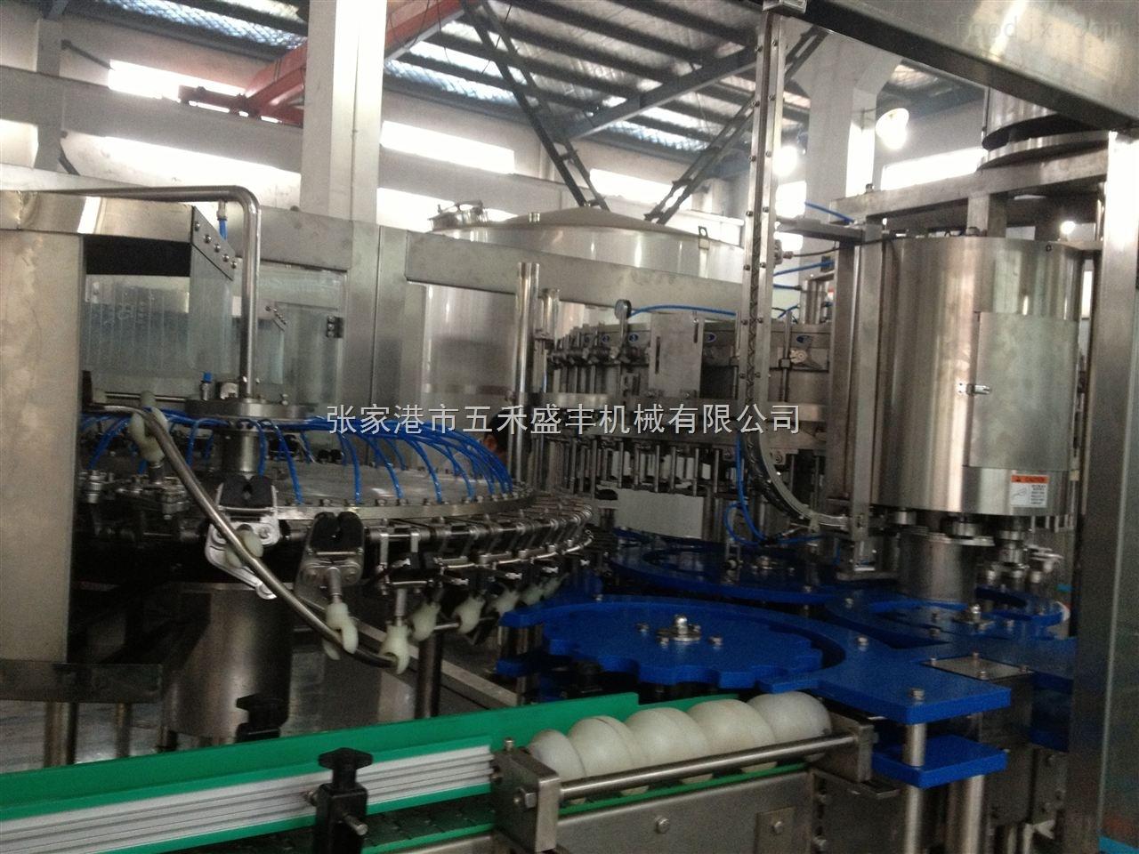 罐装啤酒生产线