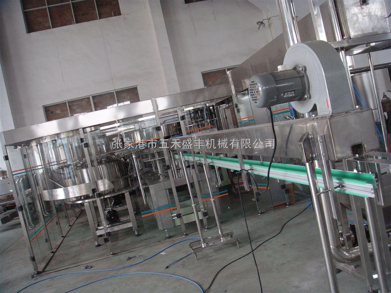 小瓶饮料灌装生产线