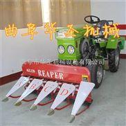 四轮拖拉机带动收割机 黑麦草玉米割晒机